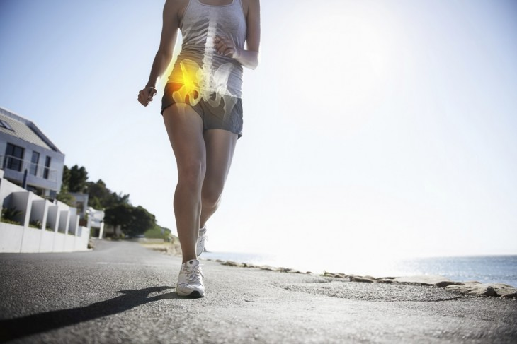 person walking with labral tears