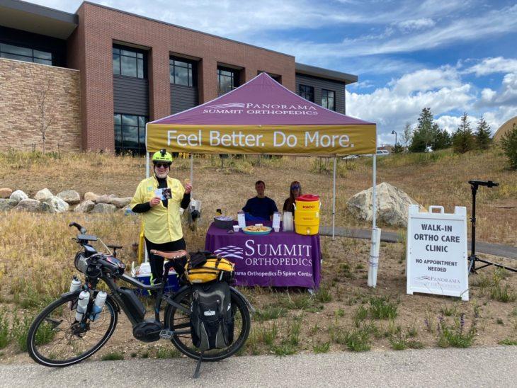 Summit Ortho on The Frisco Bike Path